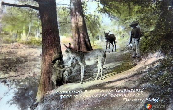 Camino a Cadereyta circa 1930-1950