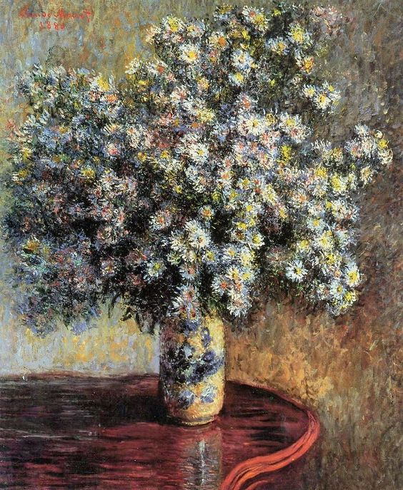 Asters (C Monet - W 627),1880.: