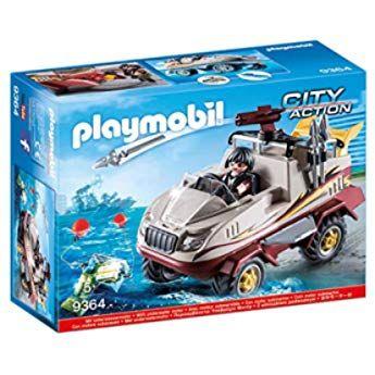 Playmobil City Life Coche Lavandería De Perros A Partir De 4 Años 9278 Amazon Es Juguetes Y Juegos Playmobil Juguetes De Playmobil Vehículo Anfibio