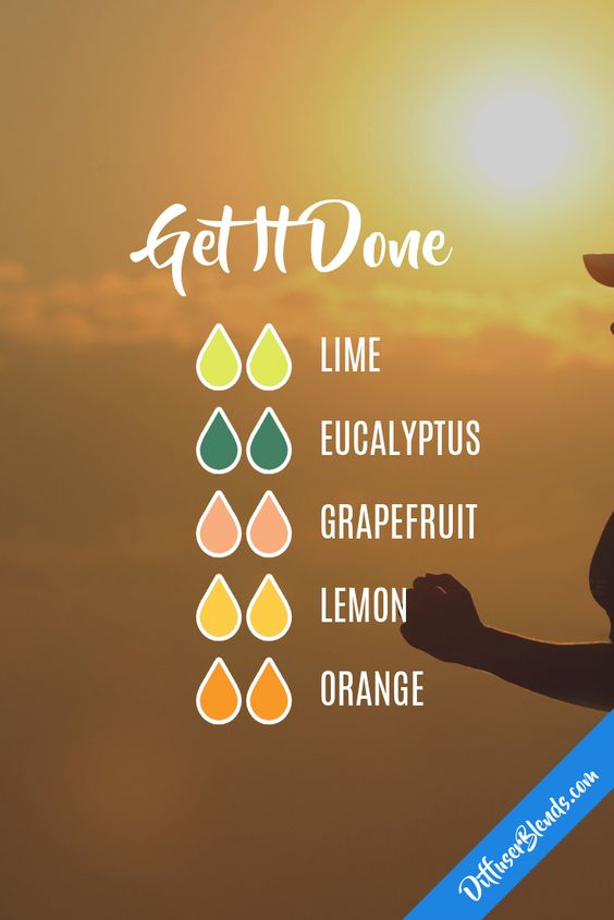 Get It Done diffusing blend