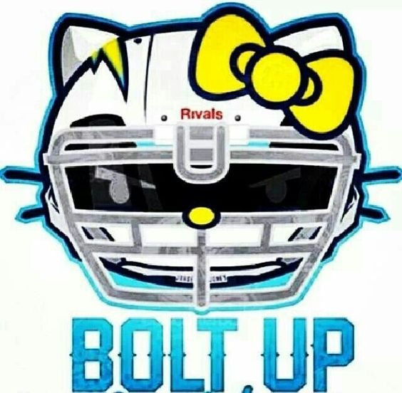San Diego Chargers Cake: San Diego Chargers ~ Bolt Up ~ Hello Kitty