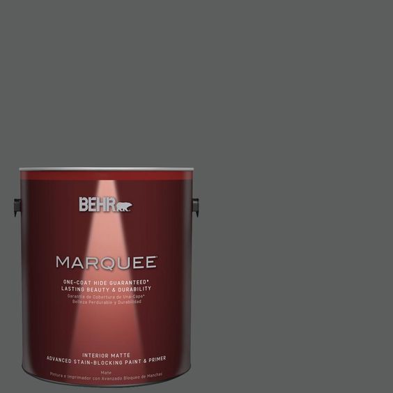 BEHR MARQUEE 1 gal. #T17-10 Shades On Matte Interior Paint