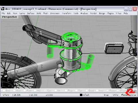 db0 Folding Bicycle Designers Commentary by ROBRADY