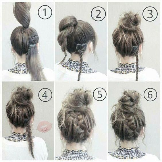 Check Out Our Collection Of Easy Hairstyles Step By Step Diy You Will Get Hairstyles Step B Medium Hair Styles Easy Hairstyles Easy Hairstyles For Medium Hair