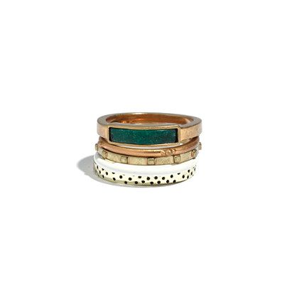 Playlist Stacking Rings