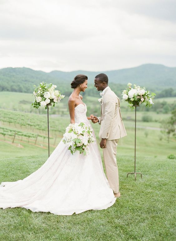 pippin hill farm simple-outdoor-ceremony