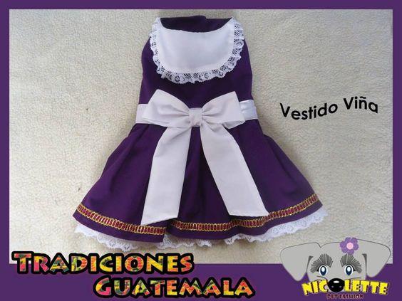 Vestido Viña Hermoso y elegante diseño Temático inspirado en los viñedos y unas, color tradicional Morado y blanco en las redes. 100% algodon faldon con encaje detalle pomposo