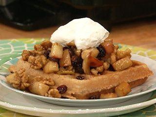Apple Cinnamon Waffles..YUM