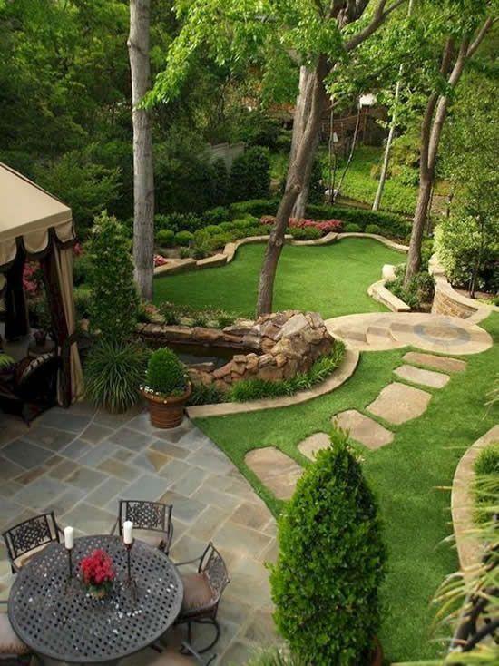Inspiracoes Para Jardins Planejados Como Fazer Em Casa Projeto De Jardim Pequeno Projeto Paisagistico Para O Quintal Pequeno Quintal Paisagismo
