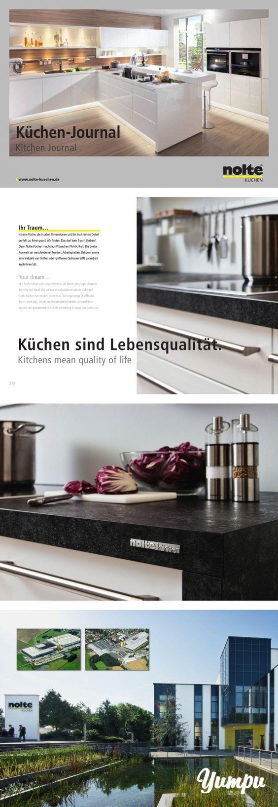 Fabulous NOLTE K chen Journal NOLTE K chen Journal For the Home Pinterest Journals and Kuchen