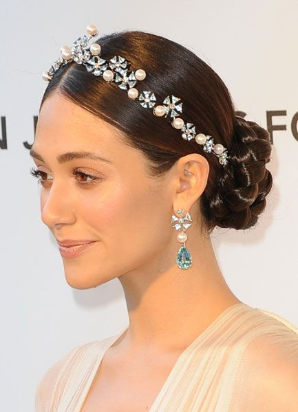 #Oscar Hairstyles You Probably Missed #jewelled #headband | see more on www.salonmagazine.ca