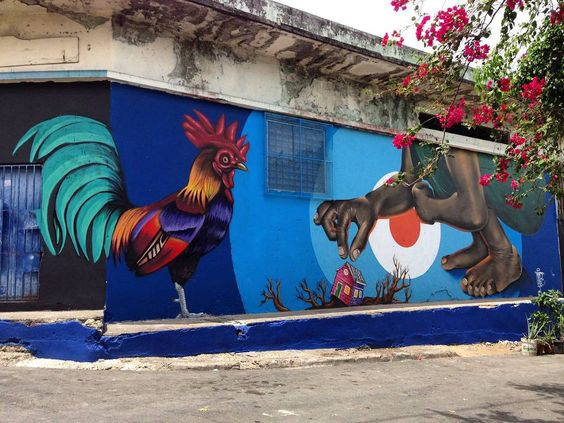 "tschelovek_graffiti: ""Работа @gabzlpa для фестиваля @hoysantabarbara в Санто-Доминго (Доминиканская респубика). #gabzlpa #hoysantabarbara #hdcrew #граффити_tschelovek #streetart #urbanart #graffiti #mural #стритарт #граффити #wallart #graffitiart #art #paint #painting #artederua #grafite #arteurbana #wall #artwork #graff #artist #graffiticulture #graffitiwall #streetart_daily #streetarteverywhere"""