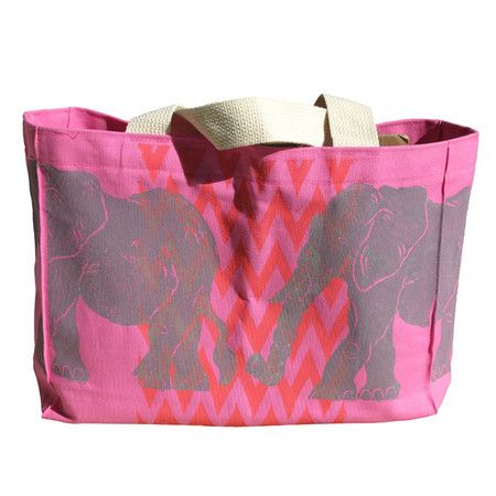I pinned this Horton Tote in Pink from the Sweet Sojourns event at Joss and Main!