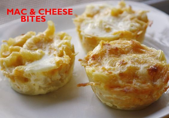 Mac cheese, Cas and Cheese bites on Pinterest