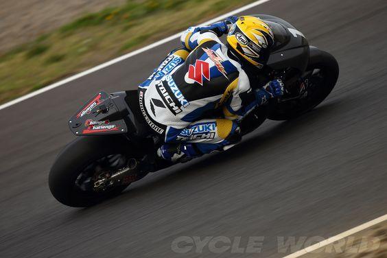 2014 Suzuki MotoGP racer prototype - spy shot #7