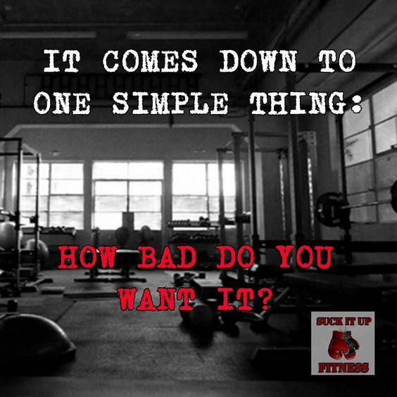 The pain of staying the same has to outweigh the pain of change. Hoe badly do you want it?  #suckitupfitness #tbt #quote