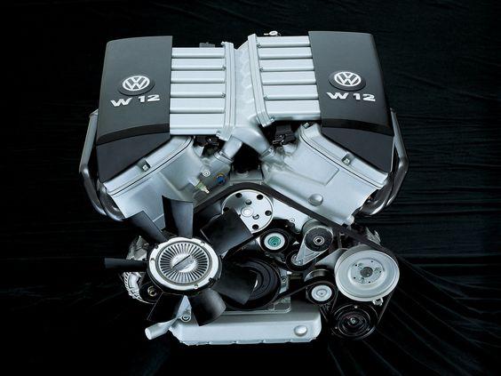 VW W12 Engine