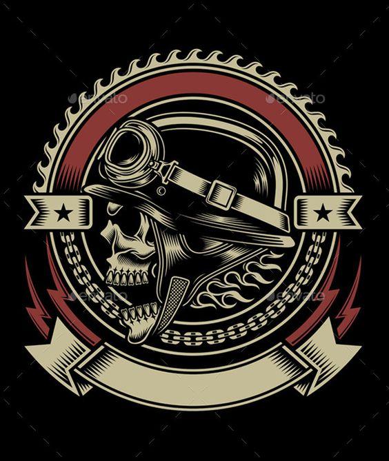 bikers skull logo - photo #6