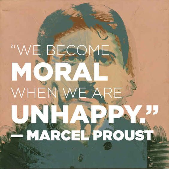 And on the nature of morality: | 14 Simply Thought-Provoking Quotes From Marcel Proust