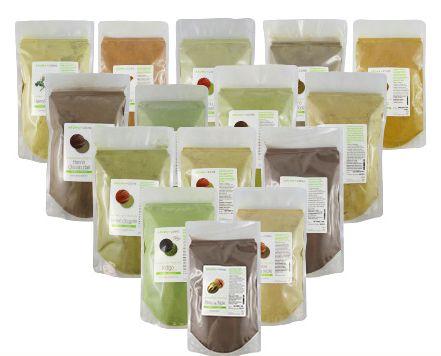 Aroma-zone henné. Comment faire sa coloration végétale à la maison ? Défi cheveux 7   Pin-up Bio