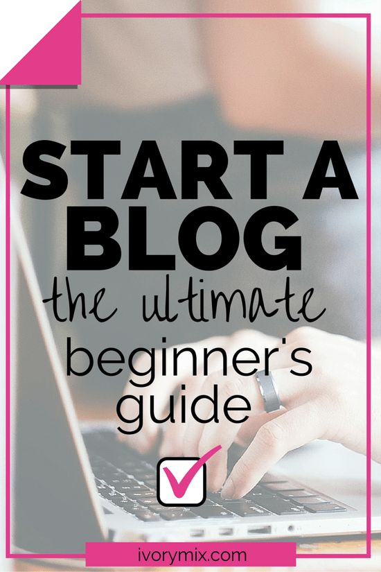 start a blog in just minutes