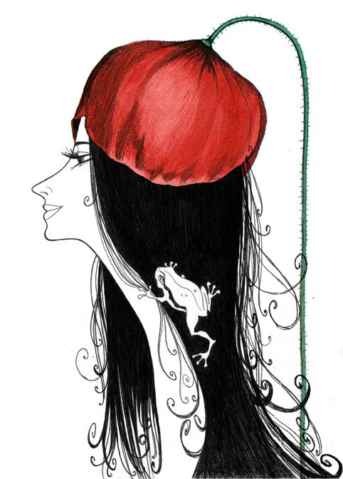 "Another great ""hat"" by Sveta Dorosheva."