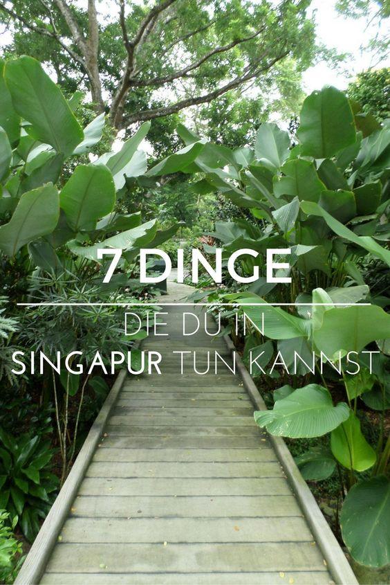 In Singapur gibt es viel zu sehen - und das meiste davon sogar kostenlos!