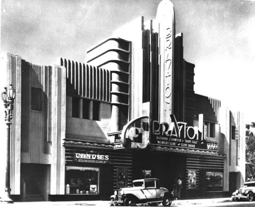 """The Brayton Theatre in Long Beach, California is screening """"Baby Face"""" - (1933"""