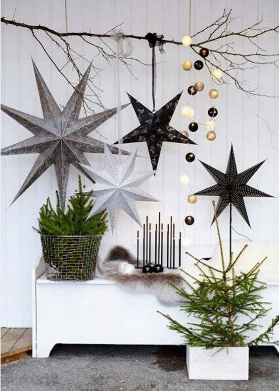 un petit sapin de nol transform en objet dco christmas dcoration dcoration de nol - Objet Decomaison Moderne