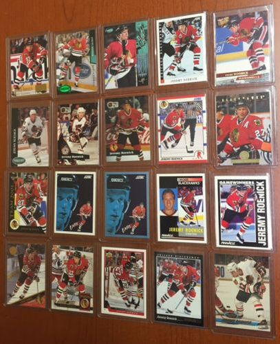 RT https://t.co/aWqPSEGX1l #Card Lot of 20 - Chicago #Blackhawks - JEREMY ROENICK Hockey Cards - 1a  https://t.co/hsHg43XhqH