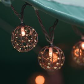 String lights, Copper wire and Copper on Pinterest