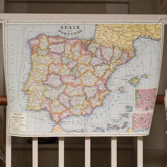 Wrap - Spain & Portugal Map