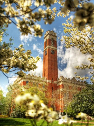 Vanderbilt University - Kirkland Hall Photographic Print at AllPosters.com