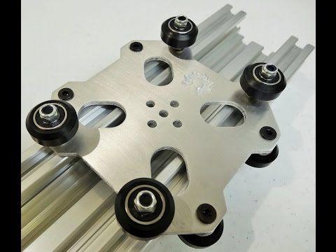 OpenBuilds® C-Beam™ Machine Aluminum Cut Example - YouTube