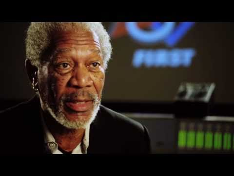Morgan Freeman invites YOU to a FIRST Robotics competition