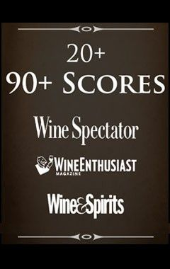 Canoe Ridge has several varietals that have scored over 90points!