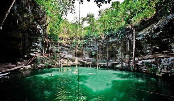 Xcanché Cenote, Yucatán, México