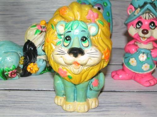 アメリカンビンテージ ライオンの貯金箱 Coin Bank Holiday Fair Lion - AMERICAN VINTAGE