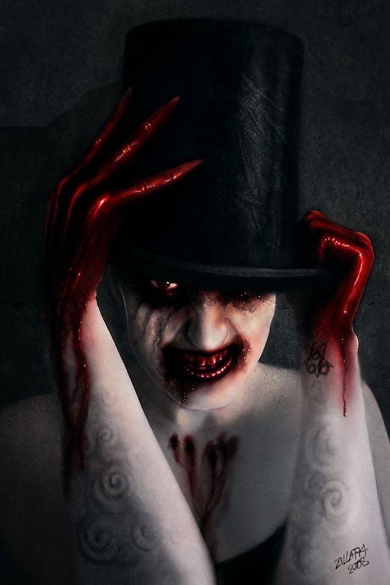 Creative horror photography. Artist's page: http://zilla774.deviantart.com/art/springheel-73661139