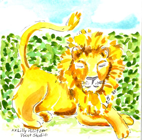 Always the mane attraction—here's to you, Leo! ‪#‎Lilly5x5‬