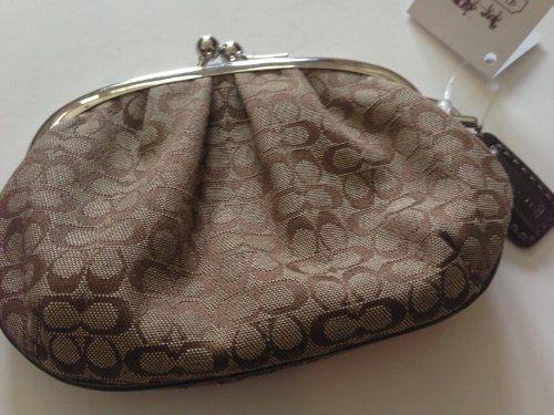 Coach Mini Signature Khaki Coin Purse Bag F61993e New with Tag COACH. $79.00