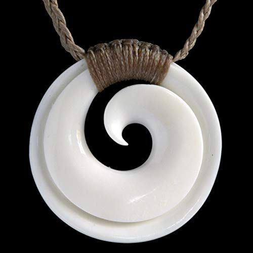 Enjoy Exclusive For Hand Carved Bone Maori Koru Pendant New Zealand Online Herearetopshopping In 2020 Bone Carving Carving Carving Designs