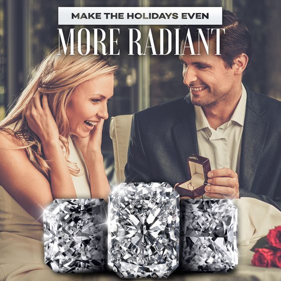 Make this a holiday she always remember every time she looks down at her dazzling Original Radiant Cut ring.