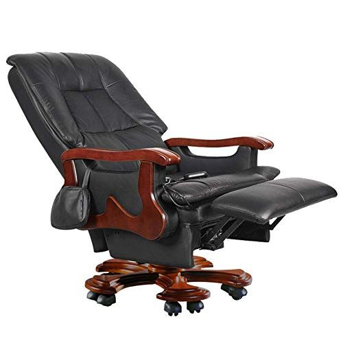 Boss Chair Electric Massage Leather Executive Chair Reclining