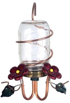 How To Make Hummingbird Feeders: Canning Jar Hummingbird Feeder