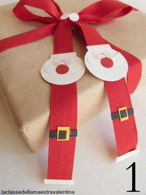 Care creative, da oggi inizia il mio calendario dellAvvento, 24 creazioni natalizie, che spero... La classe della maestra valentina blog