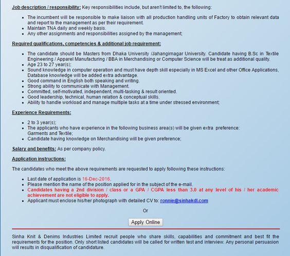The One Energy Limited Sr Executive/ Executive Job Circular