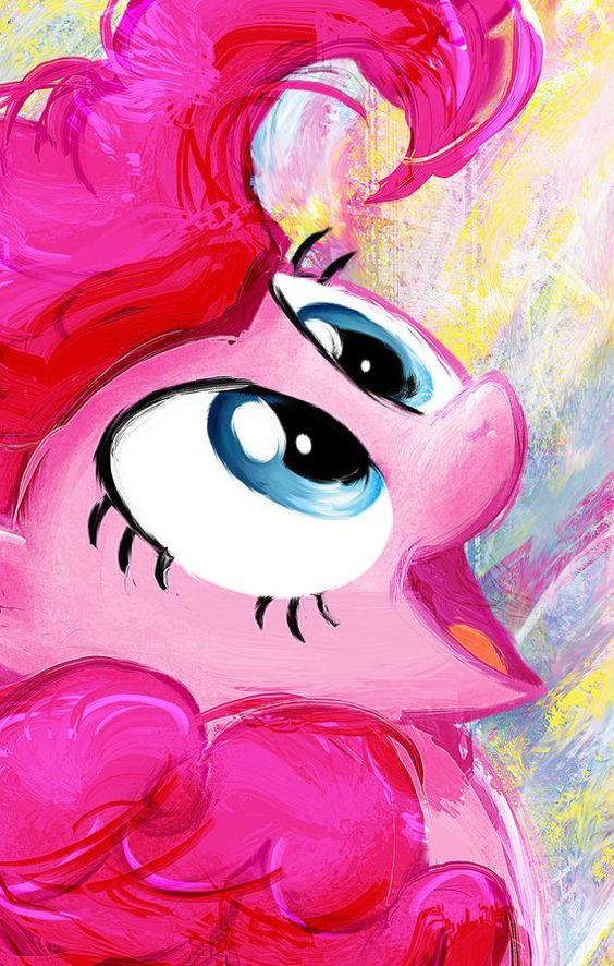 Pinkie Pie My Little Pony Friendship is Magic Art Print