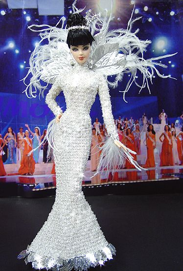 OOAK Barbie NiniMomo's Miss China 2011: