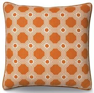 Gallaway trellis pillow. Now I want to redecorate around this pillow!
